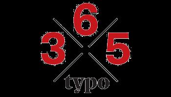 365 Typo Logotype