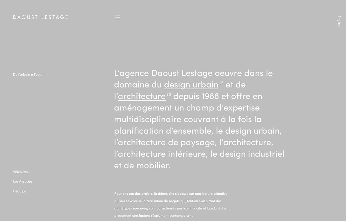 Daoust Lestage by Phoenix The Creative Studio - Creative Work - $i
