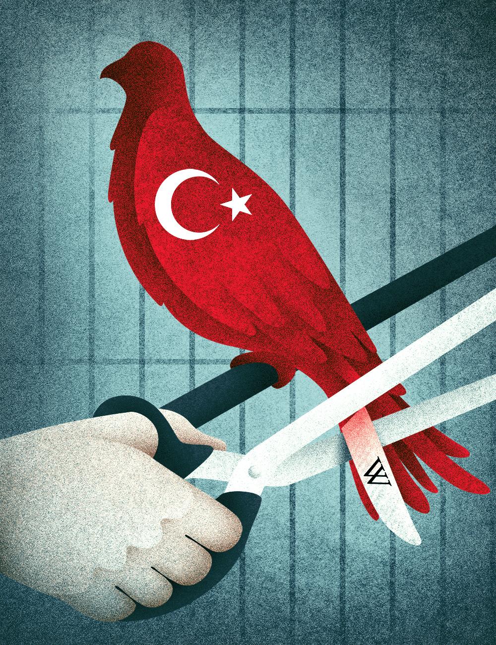 Turkey blocks access to Wikipedia. by Paolo Beghini - Creative Work