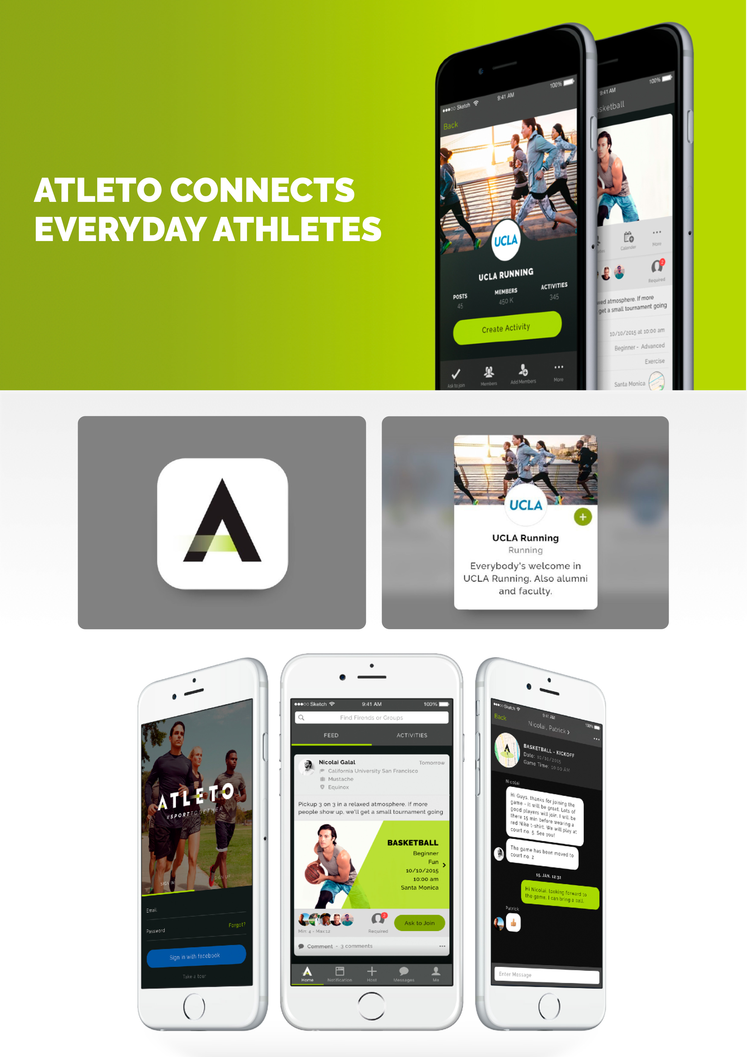 ATLETO by Mustache ApS - Creative Work