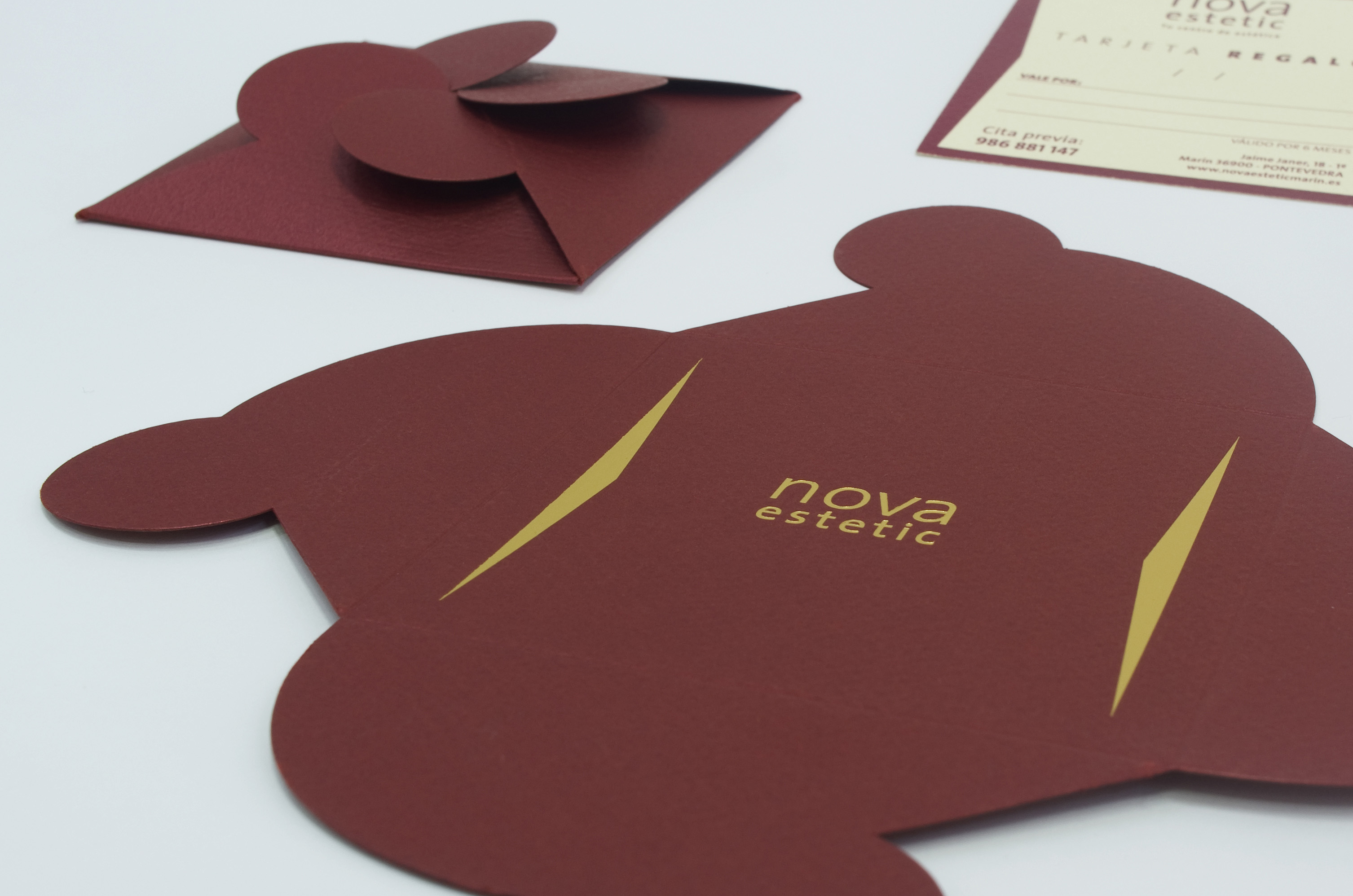 Gift card with envelope by Luis Miguel Munilla - Creative Work - $i