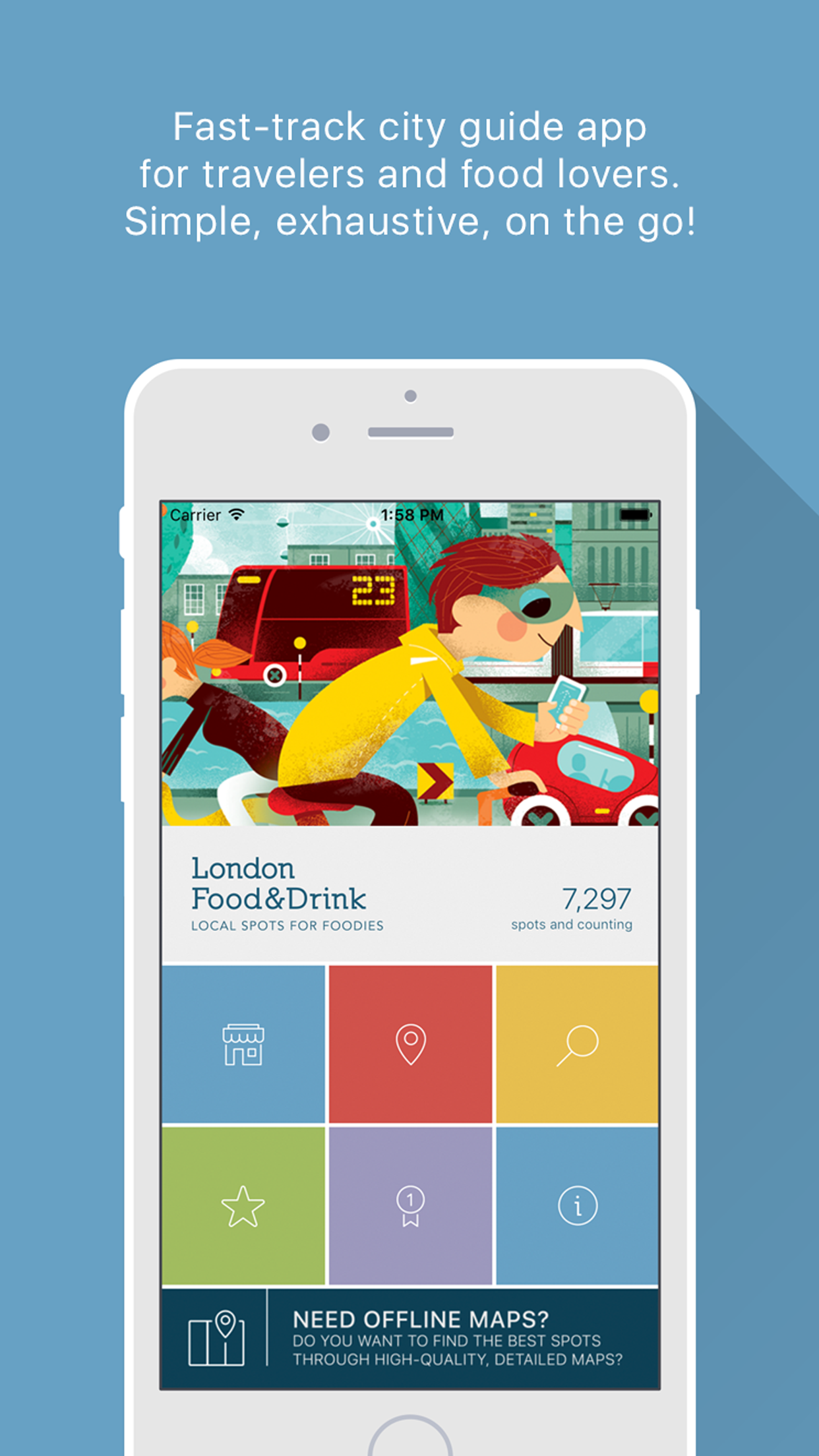 London Food&Drink by AppGround - Creative Work