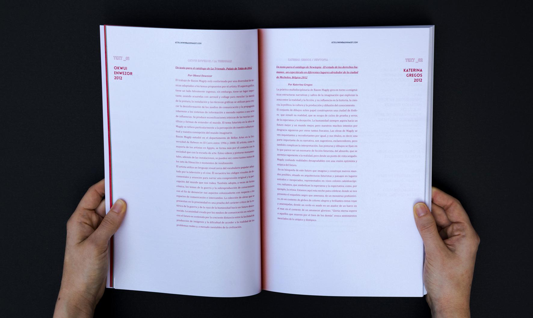 Basim Magdy - Libro fotografía by Isabel Puyol Zoco - Creative Work