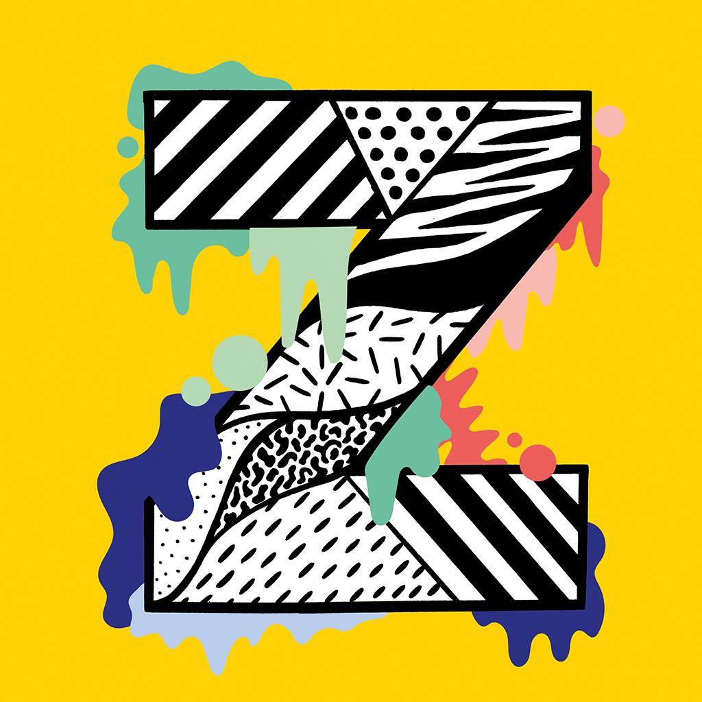 Drippy Alphabet by Casiegraphics - Creative Work - $i