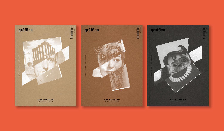 Multiportada y contraportada para el nº4 de la revista Gràffica by Susana Blasco - Creative Work