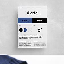 Diarte visual identity