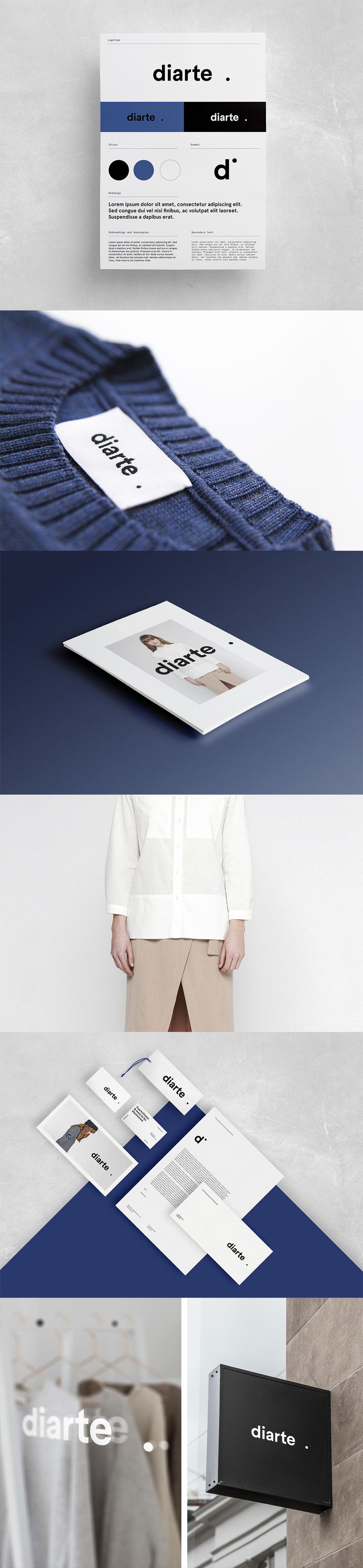 Diarte visual identity by Rebeka Arce - Creative Work