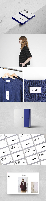 Diarte visual identity by Rebeka Arce - Creative Work - $i