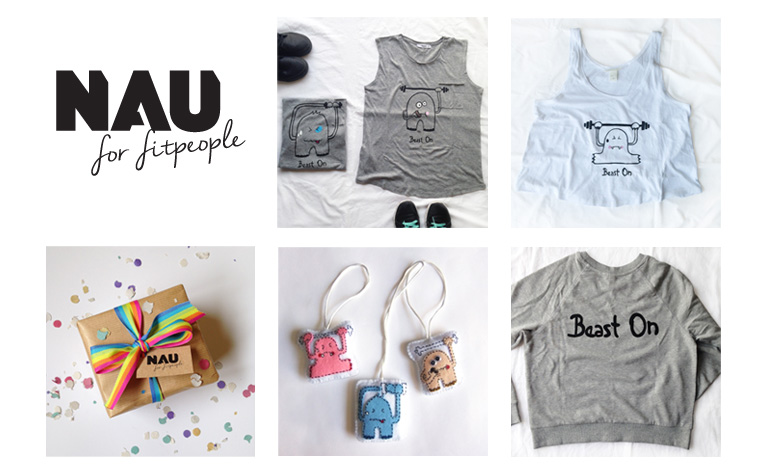 Nau for fitpeople by Naulé Arvelo / Youknow e-commerce inteligente - Creative Work