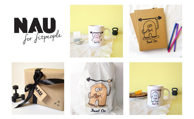 Nau for fitpeople by Naulé Arvelo / Youknow e-commerce inteligente - Creative Work - $i