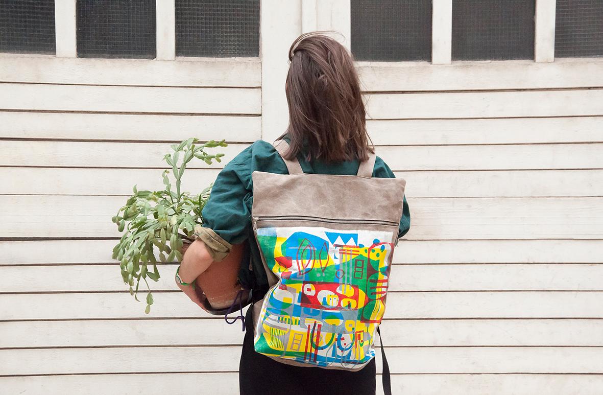 H / backpacks by Justyna Sikora - Creative Work