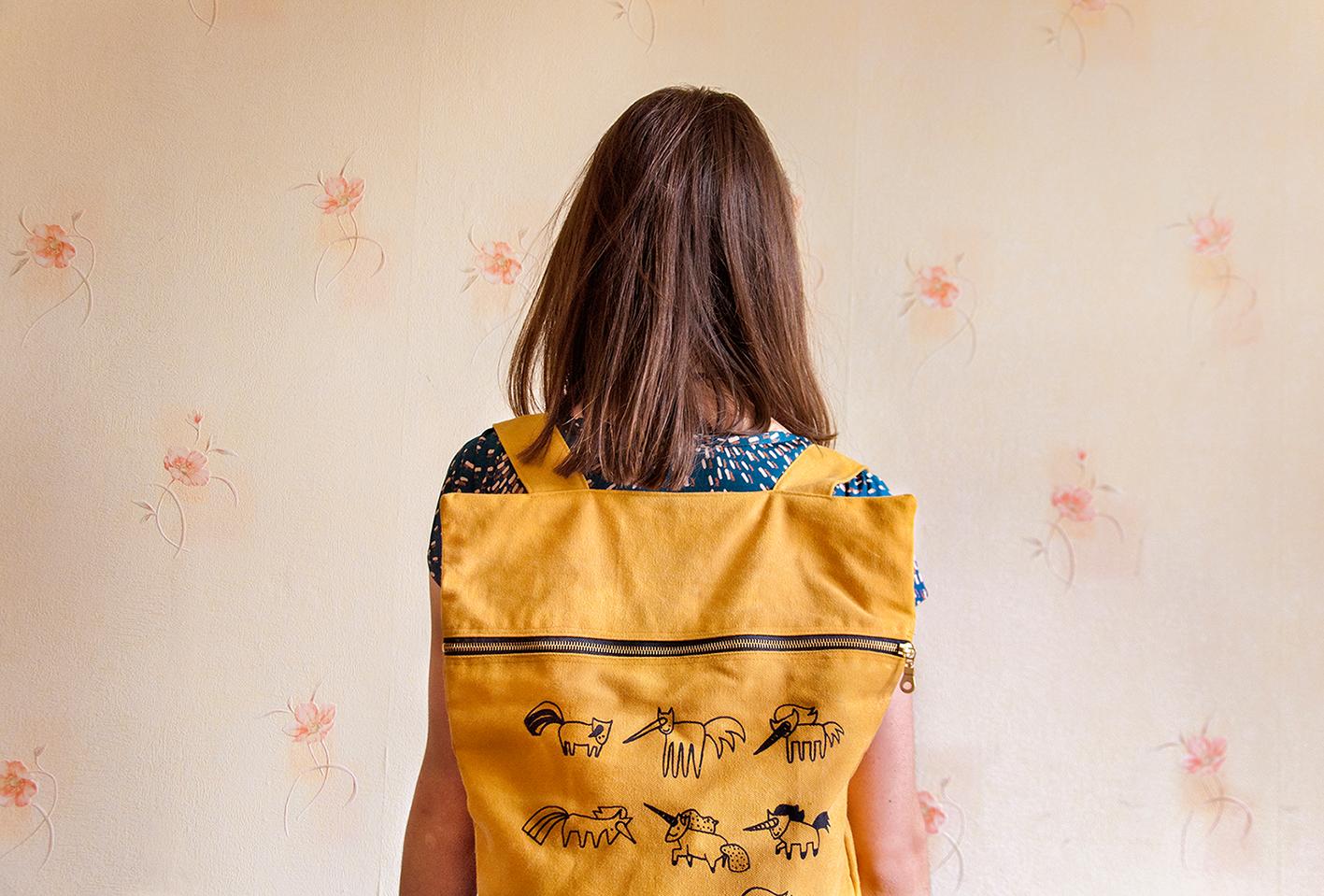 H / backpacks by Justyna Sikora - Creative Work - $i