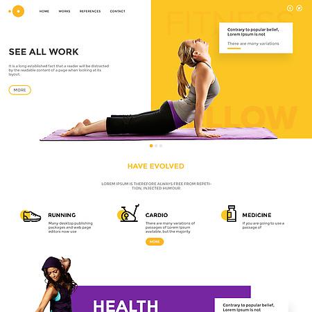 Fitness UI-UX