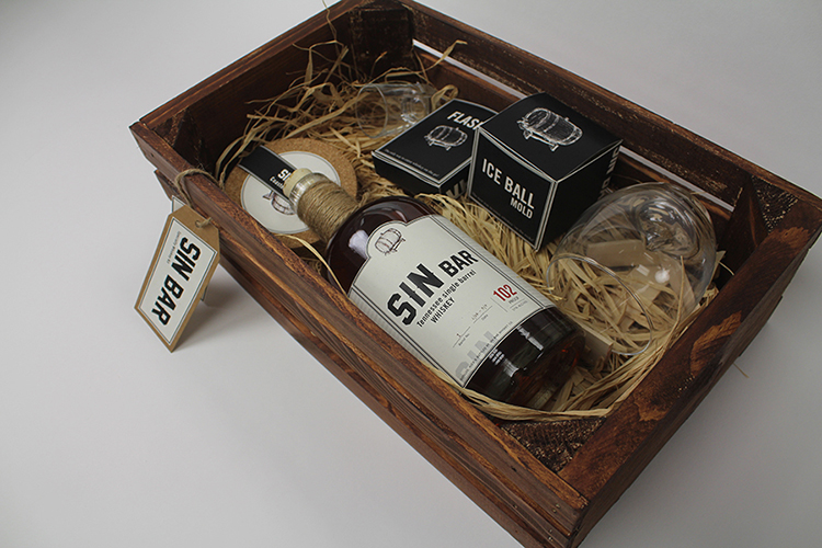 Sin Bar Specialty Whiskey Kit by Justice Crisp - Creative Work