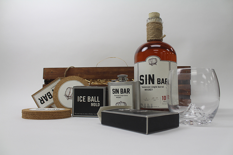 Sin Bar Specialty Whiskey Kit by Justice Crisp - Creative Work - $i