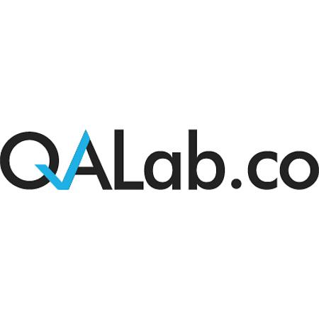 QALab logo design