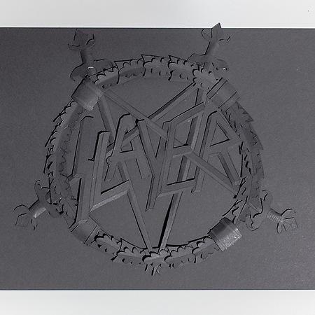 Slayer Logo Papercut