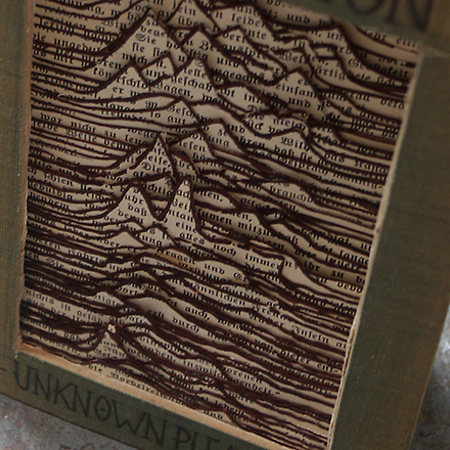Joy Division - Handcrafted book