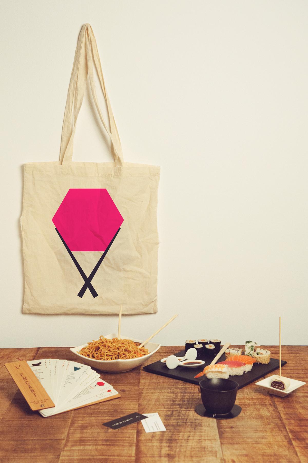 L'encant, café · sushi · bar · take away by Núria Vila - Creative Work