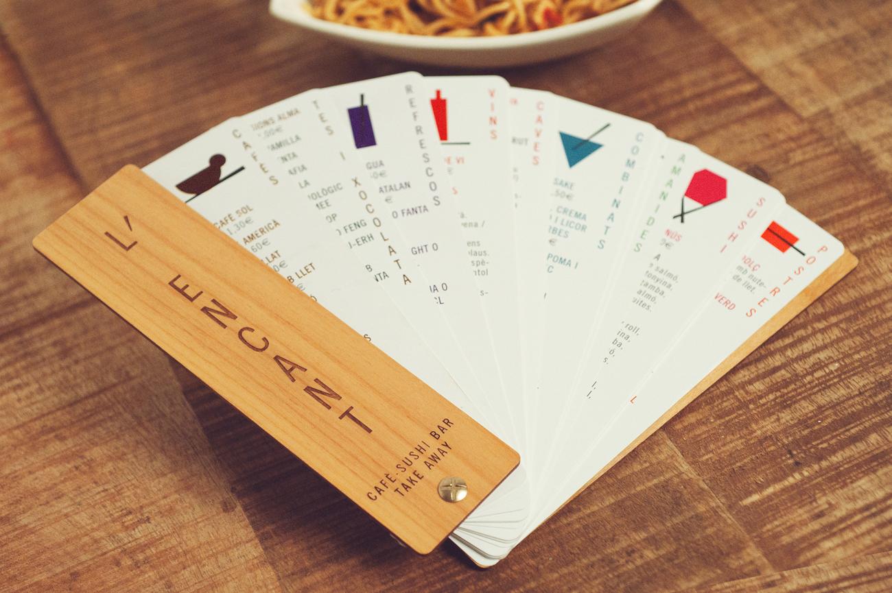 L'encant, café · sushi · bar · take away by Núria Vila - Creative Work - $i