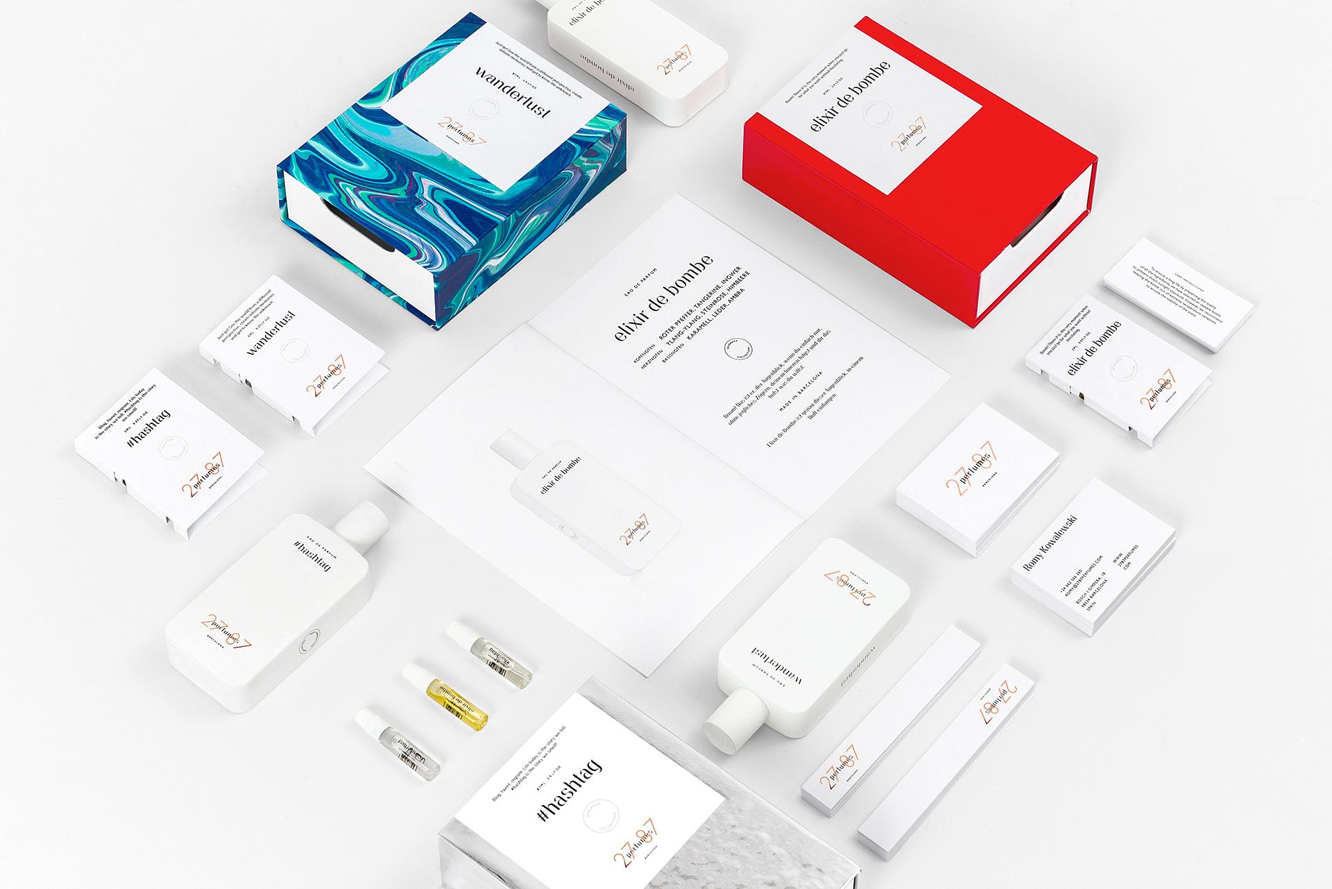27 87 Perfumes by Ingrid Picanyol - Creative Work