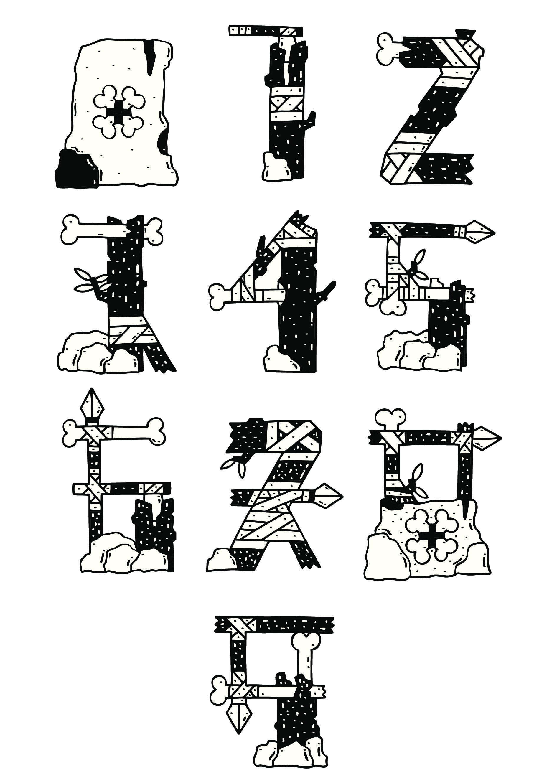Números Trogloditas by David Sean - Creative Work