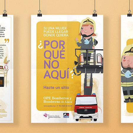Campaña global bomberos diputación álava