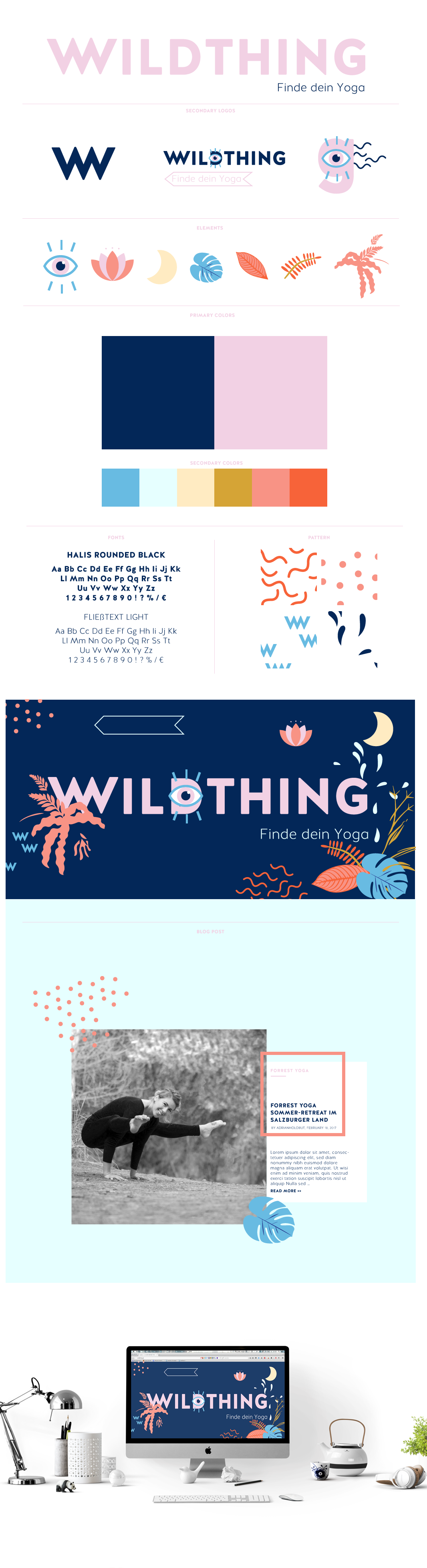WILDTHING - Find your yoga by anna habaschy - Creative Work - $i