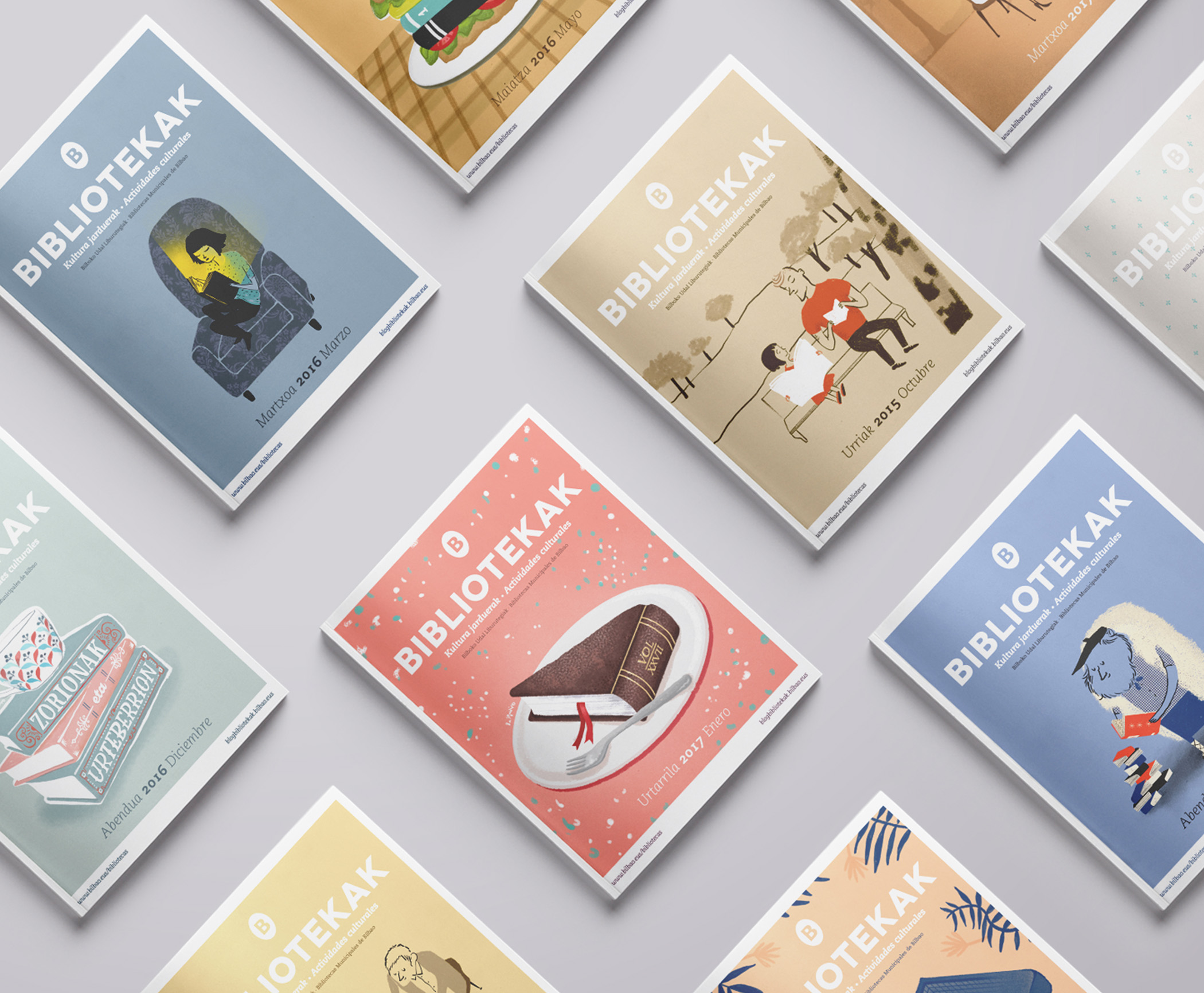 Folleto Mensual by Nagore M. Jauregi - Creative Work