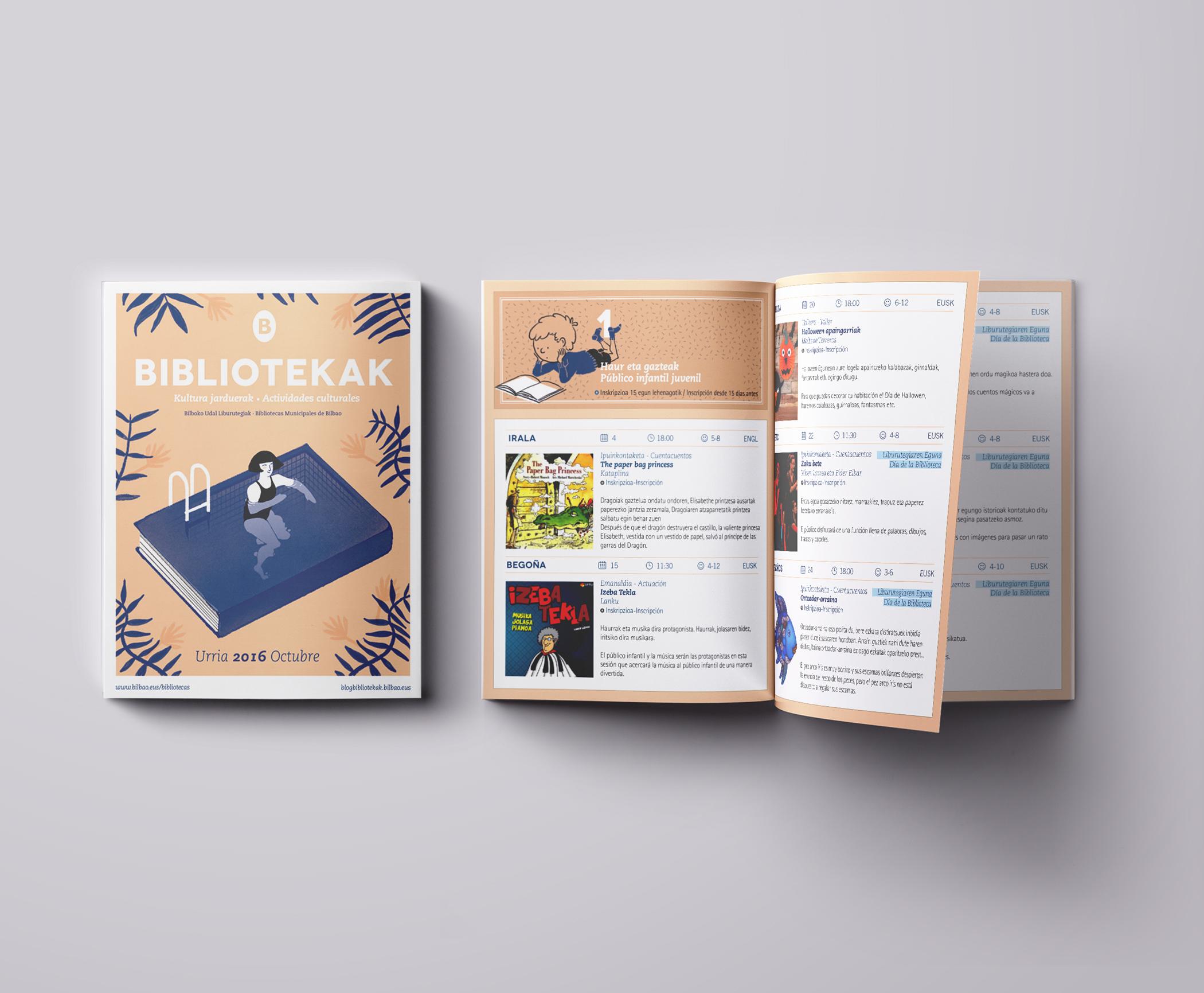 Folleto Mensual by Nagore M. Jauregi - Creative Work - $i