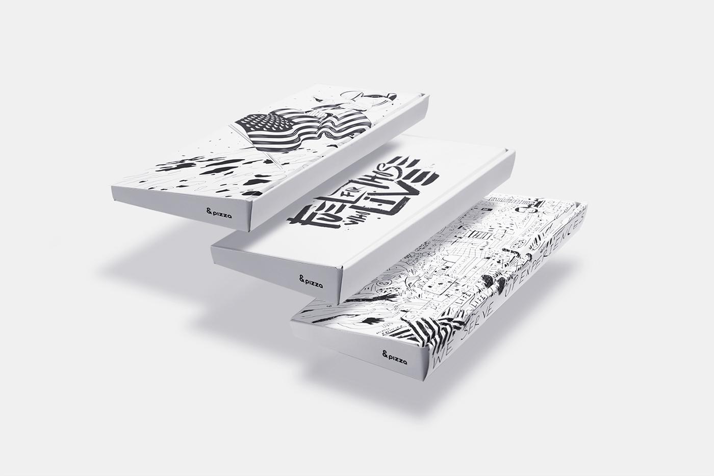 &Pizza by Futura - Creative Work - $i