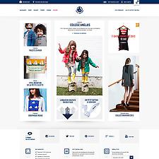 Petit Bateau website redesign