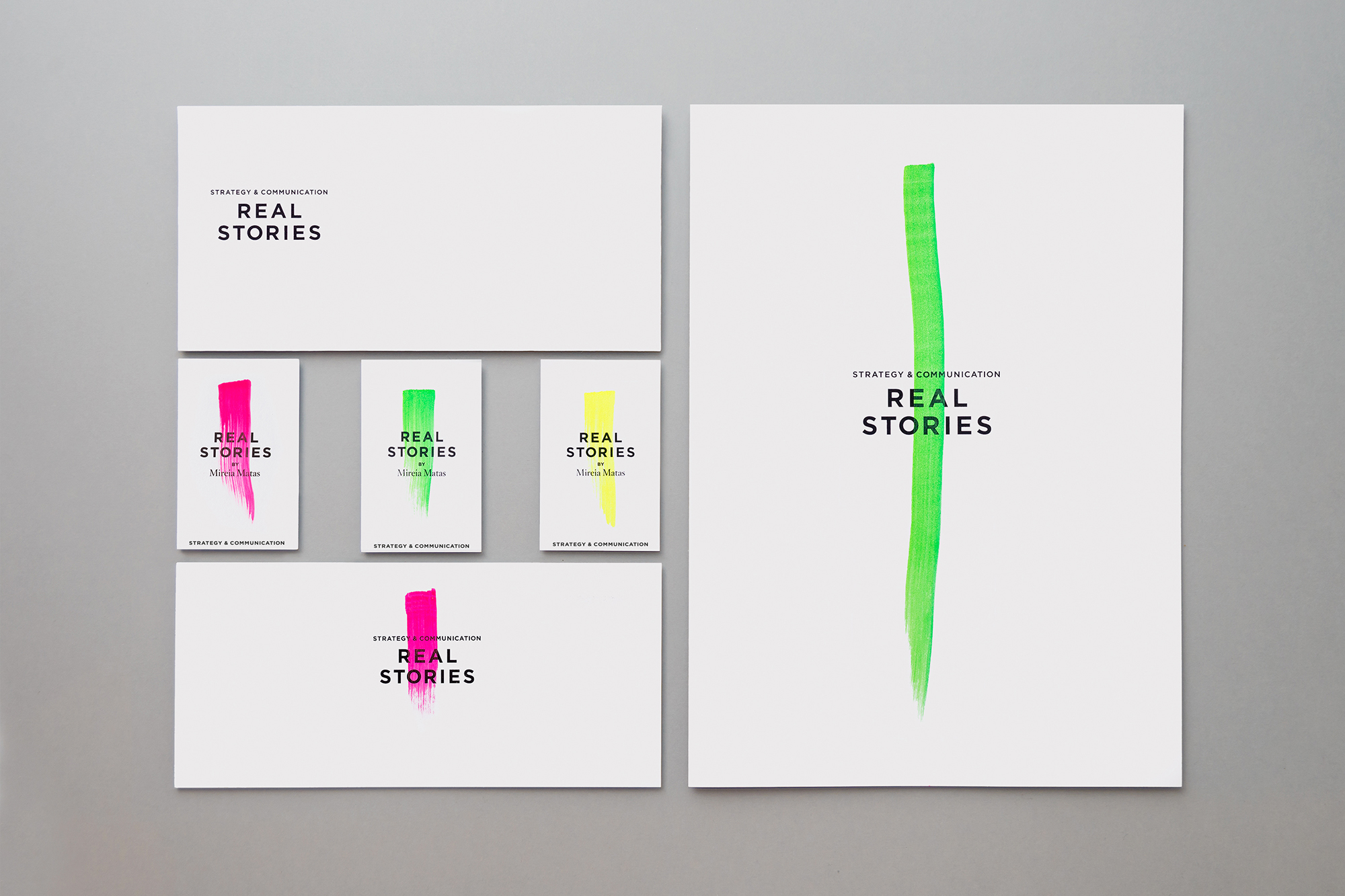Real Stories by Studio: Gris - Creative Work - $i