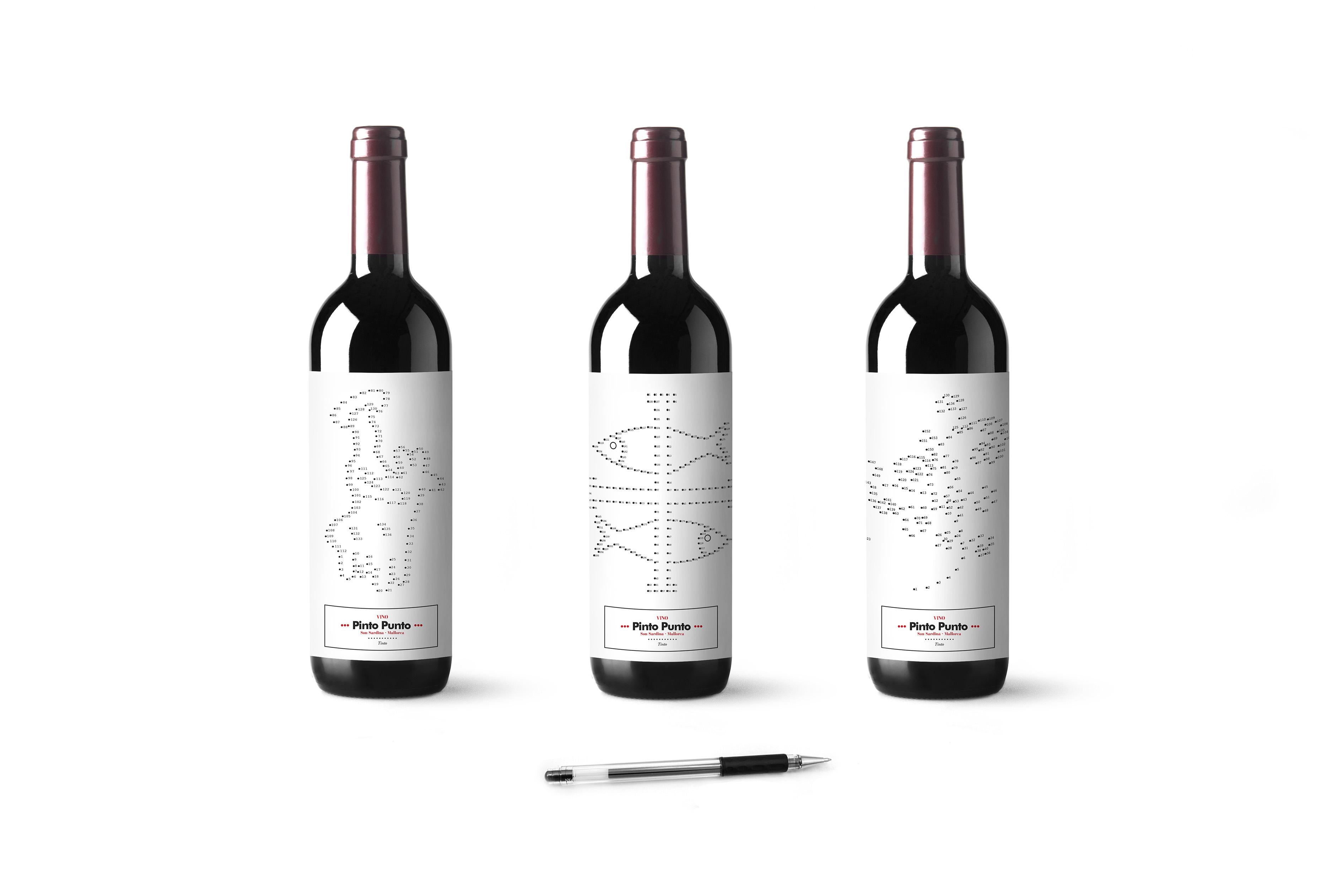 Vino Pinto Punto by Barceló estudio - Creative Work