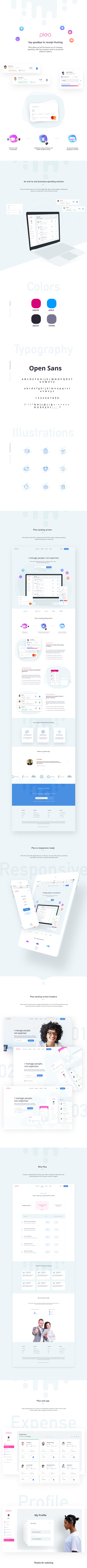 Pleo web prototype by Prakhar Neel Sharma - Creative Work