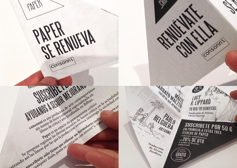 Paper se renueva. Consonni by goikipedia - Creative Work