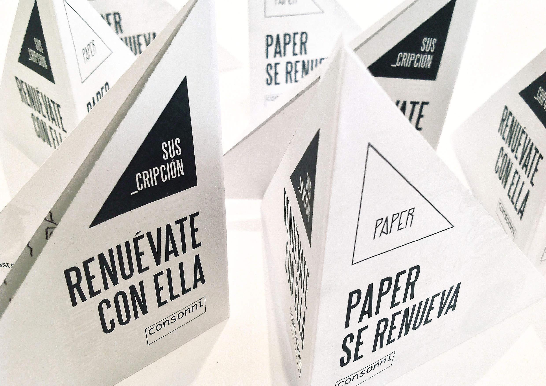 Paper se renueva. Consonni by goikipedia - Creative Work - $i
