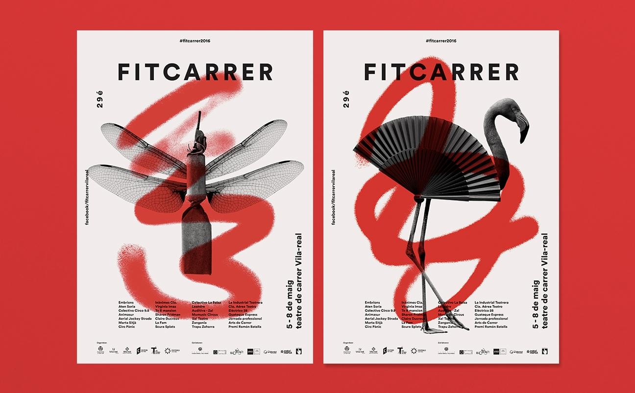 FitCarrer - Festival Internacional de teatro de calle de Vila-real by Yinsen - Creative Work