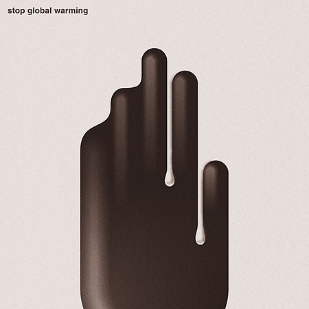 Stop global warming / poster
