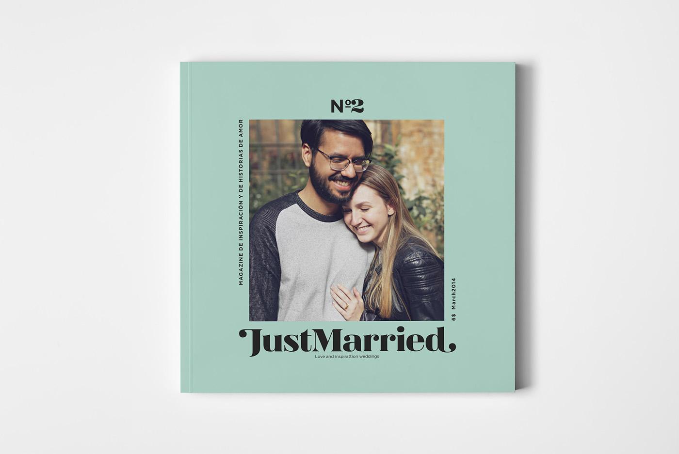 JustMarried - Love magazine by Daniel Iglesias - Creative Work