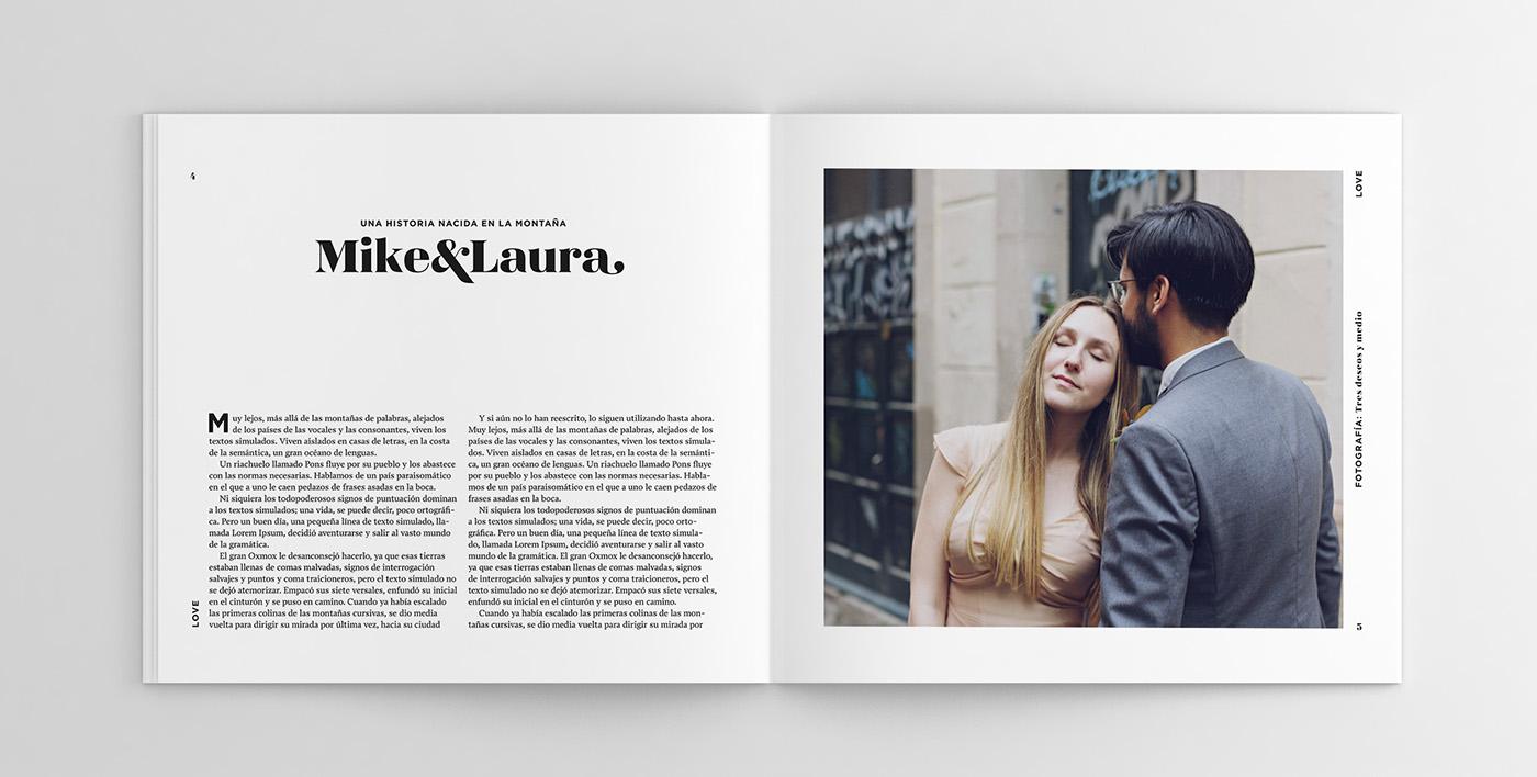 JustMarried - Love magazine by Daniel Iglesias - Creative Work - $i