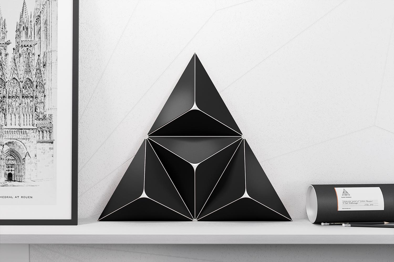 BLACK TRIANGLE by Robert Bazaev - Creative Work