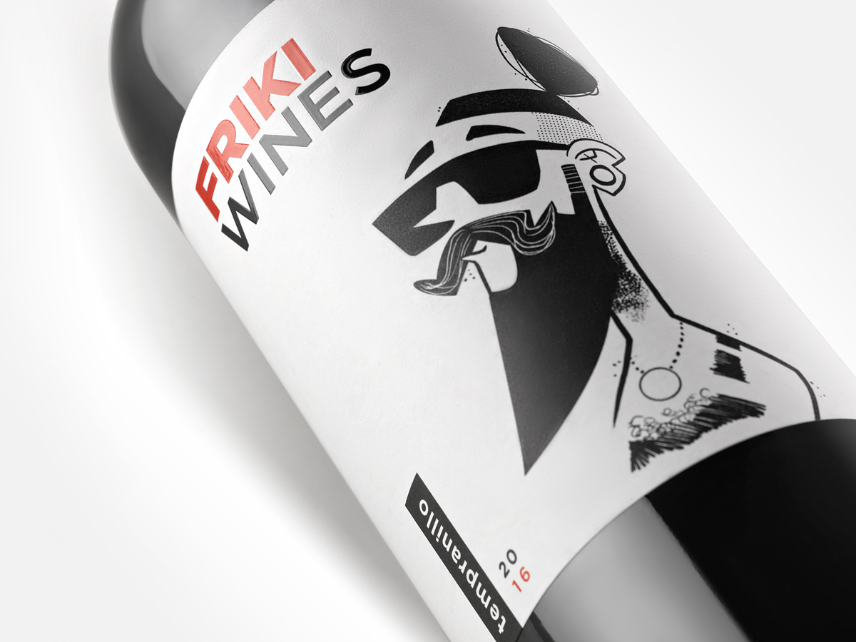 FRIKI WINES by Grow Disseny i Comunicació - Creative Work