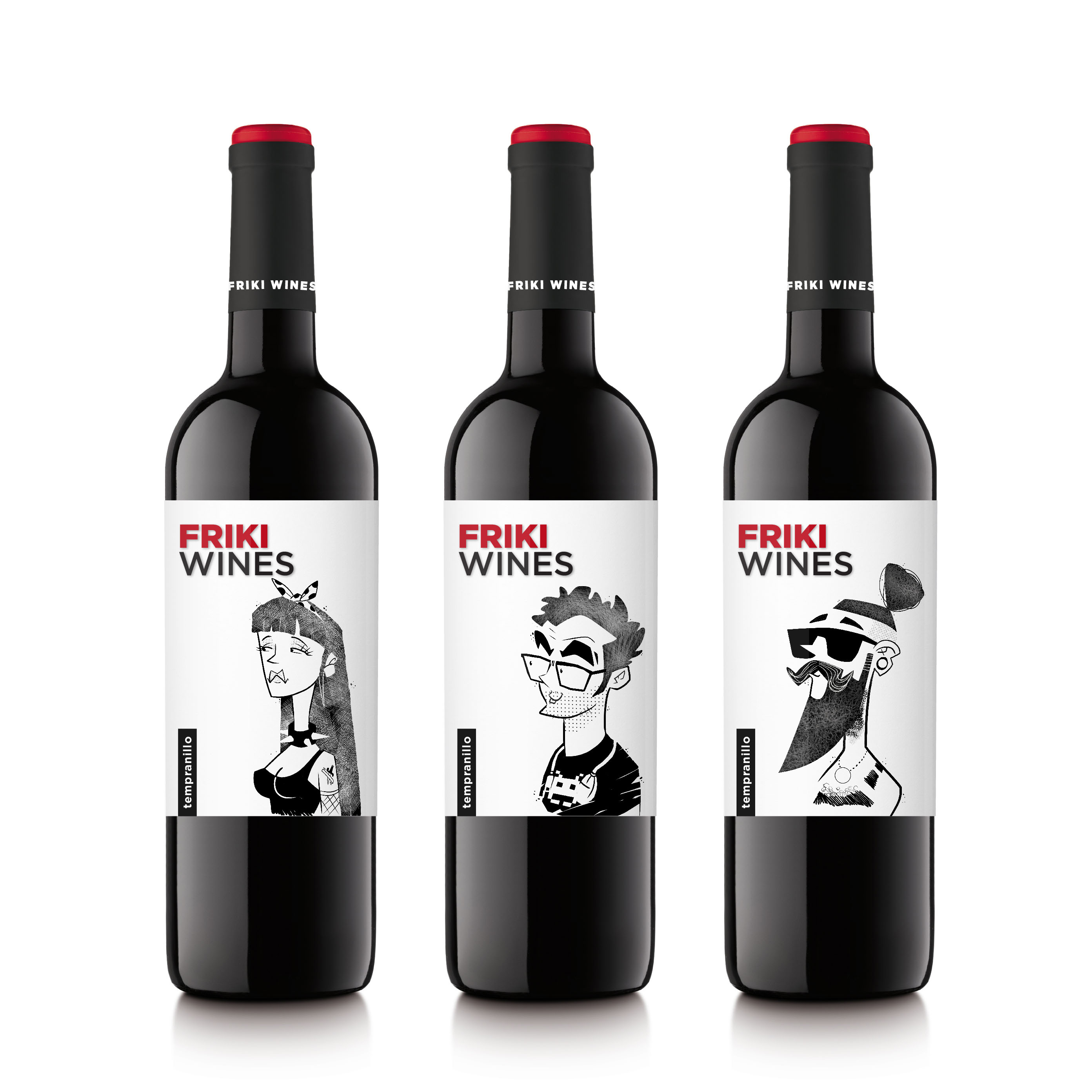 FRIKI WINES by Grow Disseny i Comunicació - Creative Work - $i