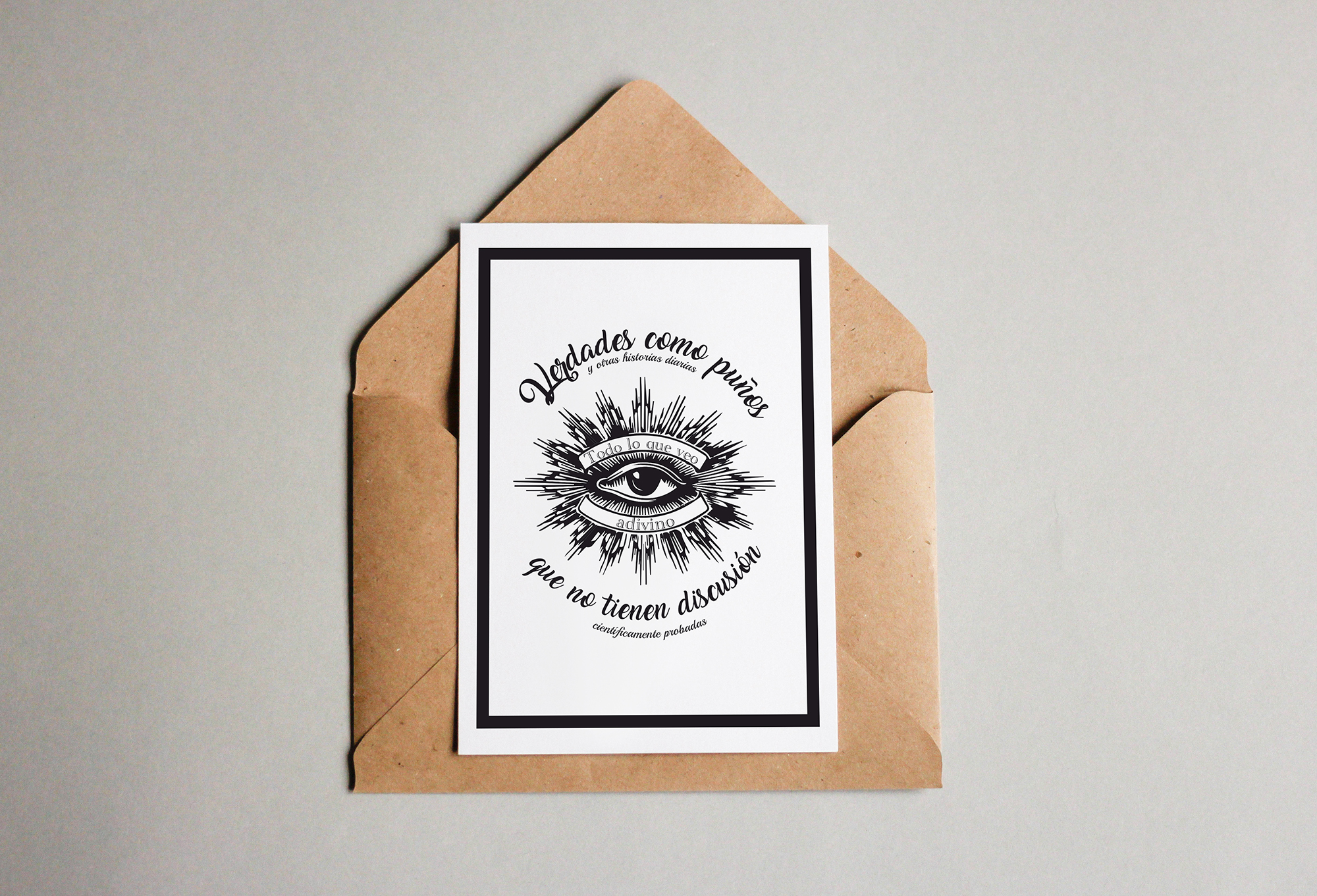 Verdades como puños  by Aidearte · estudio de diseño - Creative Work