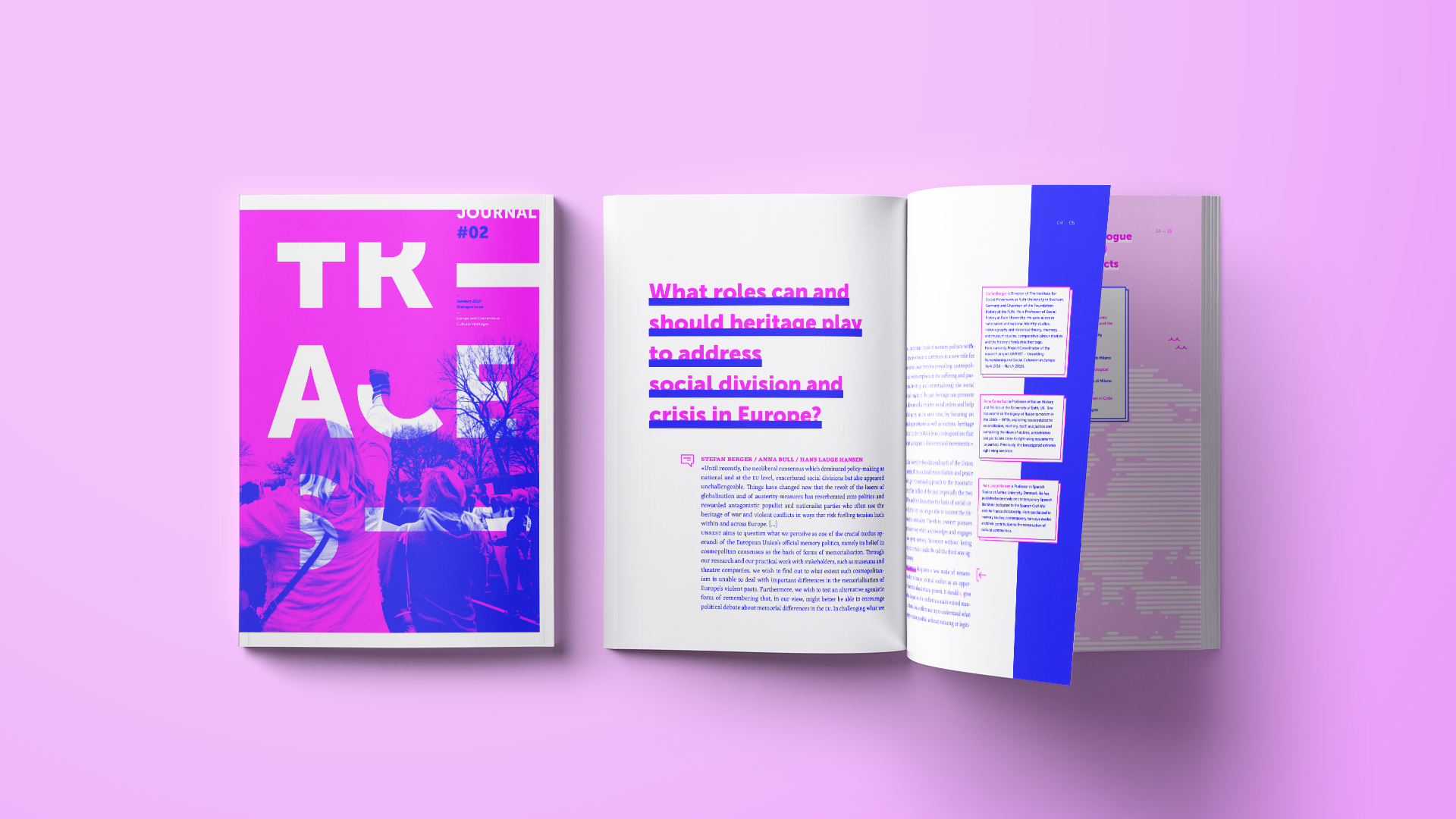 Traces Journal by Zetalab - Creative Work