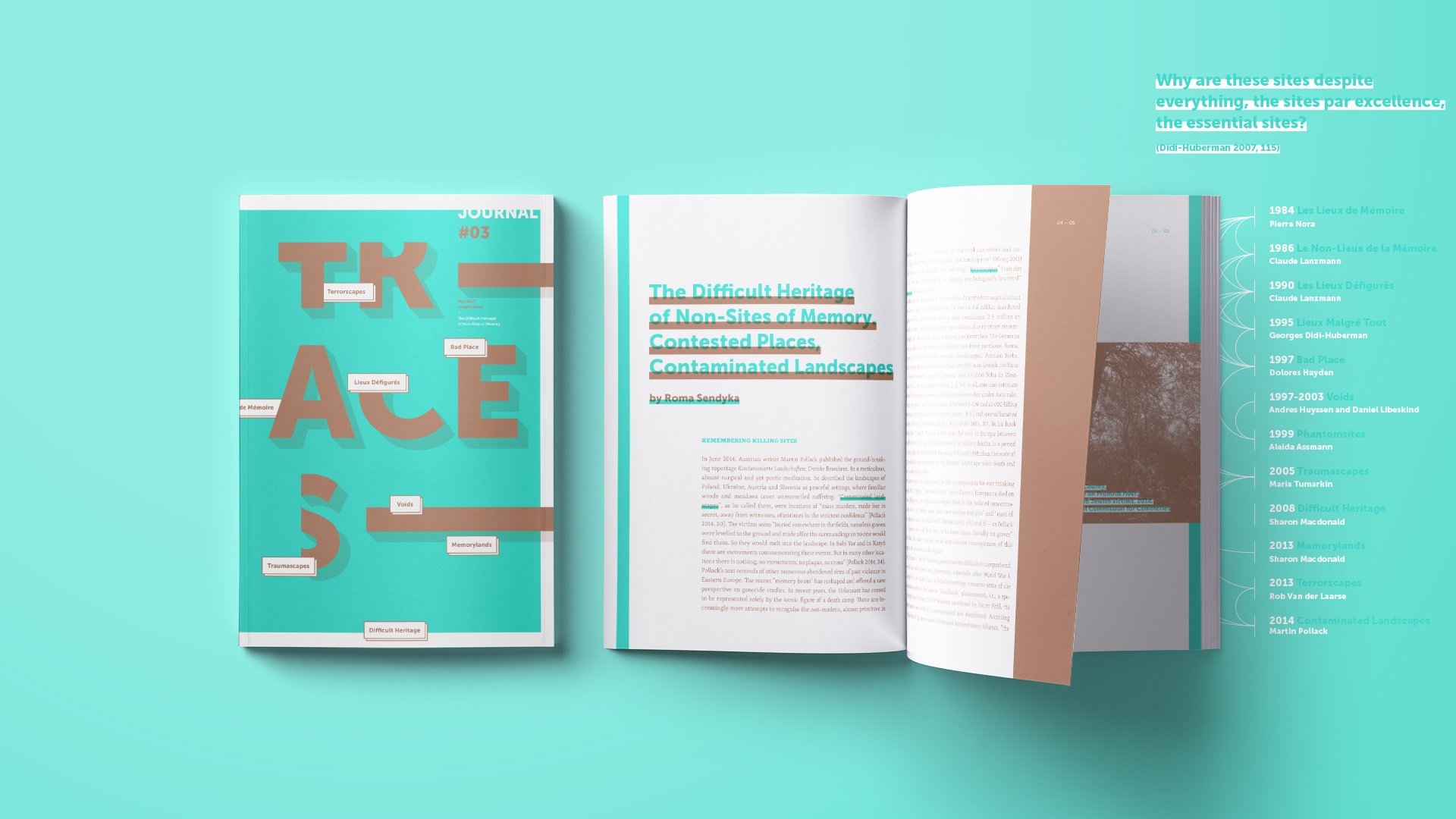 Traces Journal by Zetalab - Creative Work - $i