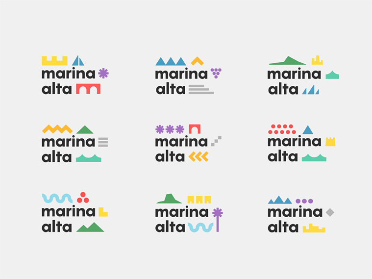 Marca Turística: Marina Alta by Craig Robert Hussey - Creative Work