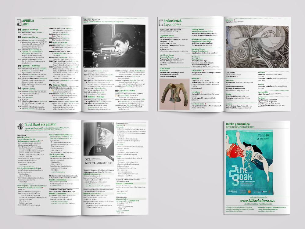 Agenda Bilbao Cultura   by Nagore M. Jauregi - Creative Work - $i
