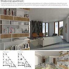 Modernist apartment